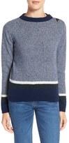 MiH Jeans Stripe Shrunken Sweater