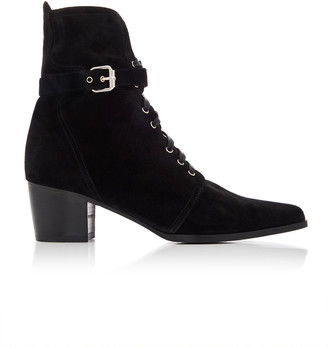 Tabitha Simmons Porter Suede Ankle Boots