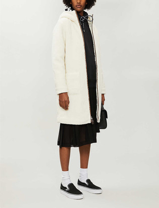 BAPE Hooded teddy coat