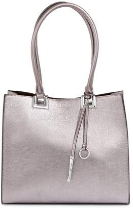 Calvin Klein Classic Faux Leather Tote