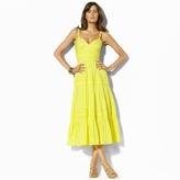 Ralph Lauren Kitty Tiered Cotton Dress
