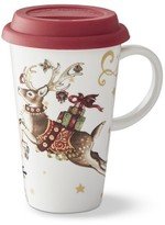 Williams-Sonoma Williams Sonoma 'Twas the Night Before Christmas Reindeer To-Go Mug