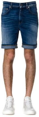 Dondup Derick Shorts In Denim