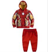 LEMONBABY Boys Kids Children's Jackets Sets Iron Man clothes Set
