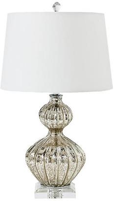 REGINA ANDREW Ripple Lamp - Mercury Glass