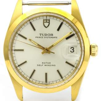 Tudor Oysterdate Gold gold and steel Watches