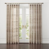 Crate & Barrel Hayden Silk Curtains