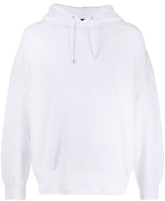 Sacai pineapple print hoodie