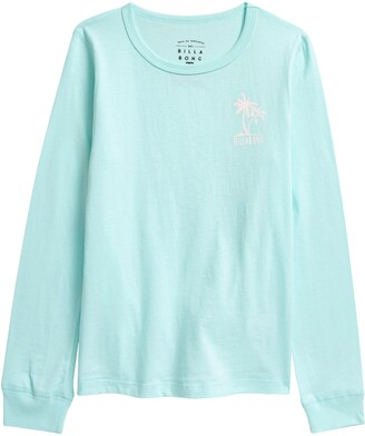 Billabong Kids' Warm Waves Long Sleeve Graphic Tee
