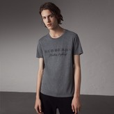Burberry Devoré Cotton Jersey T-shirt