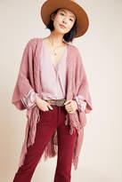 Anthropologie Amanda Fringed Kimono