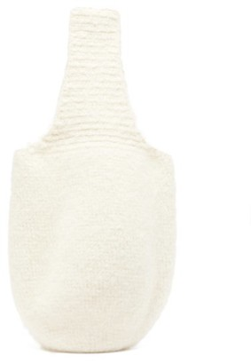 LAUREN MANOOGIAN Calabaza Felted-crochet Tote Bag - White