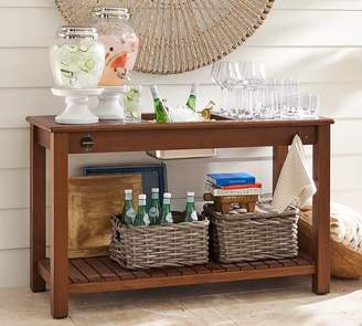 Pottery Barn Chatham Ultimate Bar Console, Honey