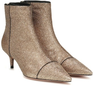 Alexandre Birman Kittie 50 lame ankle boots