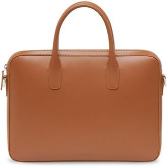 Mansur Gavriel Calf Small Briefcase - Saddle