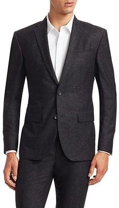 Saks Fifth Avenue MODERN Wool & Silk Suit Jacket