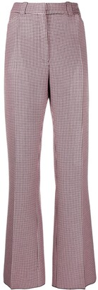 Mulberry Eve mini houndstooth trousers