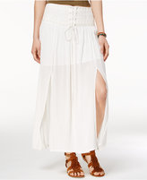 American Rag Lace-Up Maxi Skirt, Only at Macy's