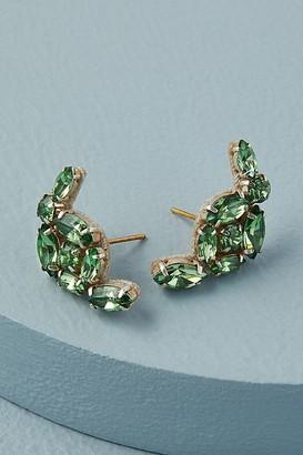 Deepa Stacey Rhinestone Crawler Earrings