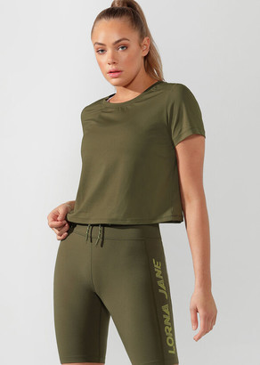 Lorna Jane Performance Cropped Active Tee