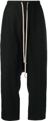 Rick Owens Dropped Crotch Trousers
