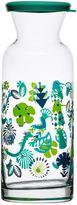Sagaform Fantasy Glass Carafe with Lid in Green Multi