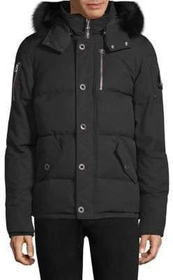 Moose Knuckles 3Q Fur-Trimmed Puffer Jacket