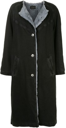 Isabel Marant Faux Fur Lined Jacket