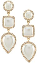Anna & Ava Susan Faux-Pearl Statement Drop Earrings