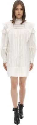 Etoile Isabel Marant Patsy Ruffled Cotton Dress