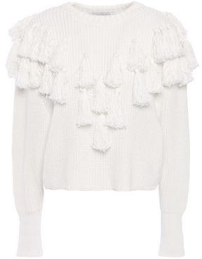 Philosophy di Lorenzo Serafini Tasseled Cotton Sweater