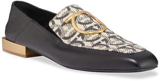 Salvatore Ferragamo Lana Gancio Flat Loafers