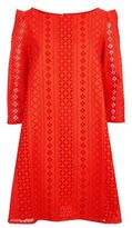 Claudie Pierlot Rififi Broderie Anglaise Dress