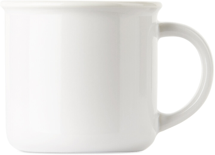 Thumbnail for your product : Museum of Peace & Quiet SSENSE Exclusive White Kindle Wordmark Mug
