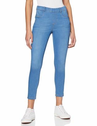 Dorothy Perkins Women's Blue Regular Length Light Wash Eden Ankle Grazer Jeggings Jeans 22