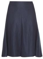 Loro Piana Lily Linen Twill Skirt