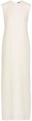 The Row Ersa Linen-blend Boucle Maxi Dress