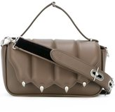 Marco De Vincenzo paw detail shoulder bag - women - Calf Leather - One Size