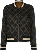 Etoile Isabel Marant Dabney bomber jacket - women - Cotton/Polyester/Viscose - 36