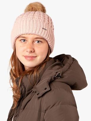 Barts Filippa Pom Pom Beanie Hat, Pink