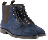 Jimmy Choo - Jules Waxed-suede Boots