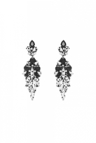 Forest of Chintz Black & White Perdita Earrings