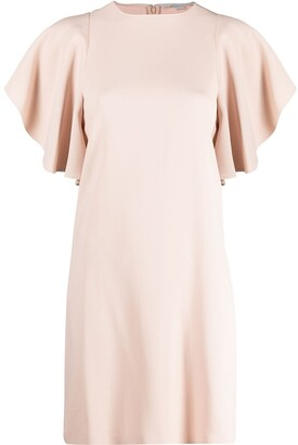 Stella McCartney Ruffled-Sleeves Dress