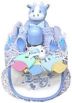 Baby Gift Idea 1 Tier Boy's Diaper Cake