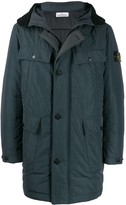 Stone Island padded pockets coat