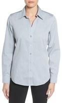 Foxcroft Non-Iron Fitted Shirt (Regular & Petite)