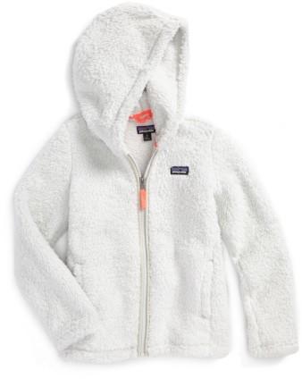 Patagonia Girl's Los Gatos Fuzzy Fleece Hoodie