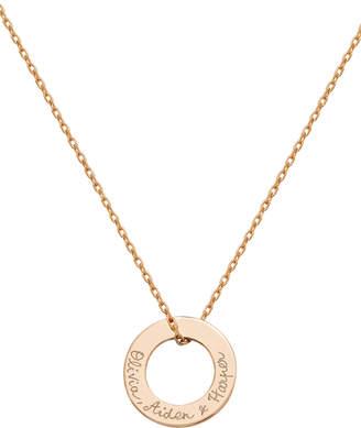 Merci Maman Personalized Eternity Necklace