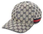 Gucci Canvas & Cotton Blend Hat
