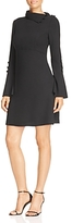 Vince Camuto Foldover Collar Bell-Sleeve Dress - 100% Exclusive